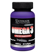 ULTIMATE NUTRITION OMEGA 3 (90 КАПС.)