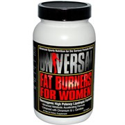 UNIVERSAL NUTRITION FAT BURNERS FOR WOMAN (120 ТАБ.)