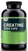 OPTIMUM NUTRITION CREATINE 2500 CAPS (200 КАПС.)